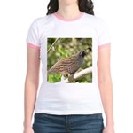 California Quail Jr. Ringer T-Shirt