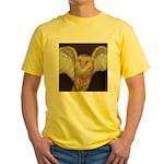 Barn Owl Yellow T-Shirt