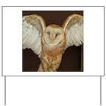 Barn Owl Yard Sign