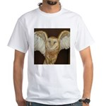 Barn Owl White T-Shirt