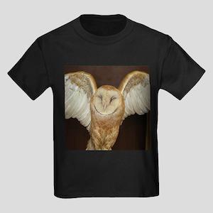 Barn Owl Kids Dark T-Shirt