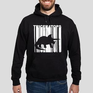 Retro Triceratops Hoodie