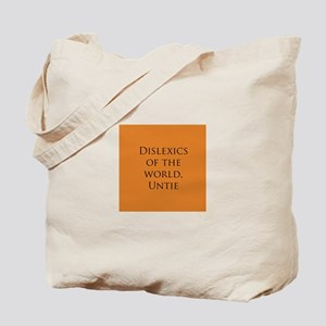 Dislexic Tote Bag
