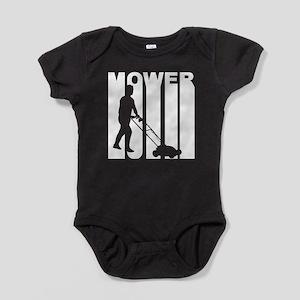 Retro Lawnmower Baby Bodysuit