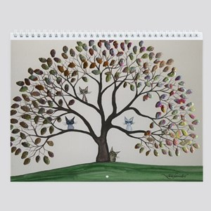 Lori Alexander Tree Cat Wall Calendar