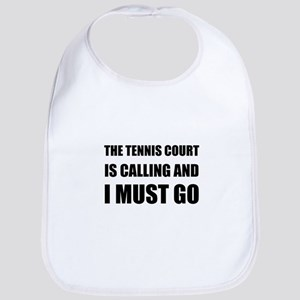 Tennis Court Calling Must Go Bib
