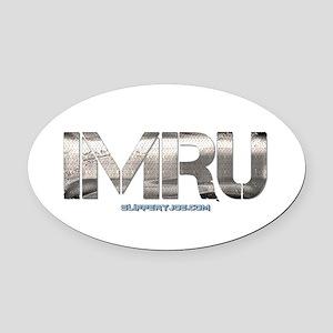 IMRU-3 Oval Car Magnet
