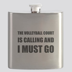 Volleyball Court Calling Must Go Flask