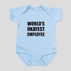World's Okayest Employee Body Suit