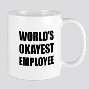 World's Okayest Employee Mugs