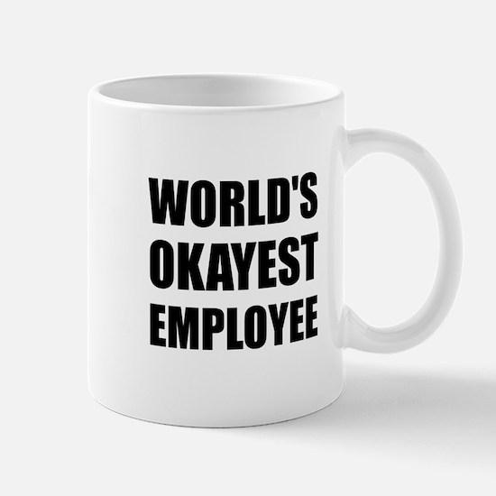 World's Okayest Employee Mugs