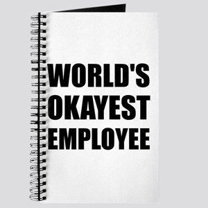 World's Okayest Employee Journal