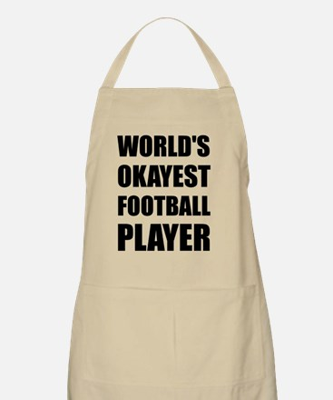 World's Okayest Football Player Apron