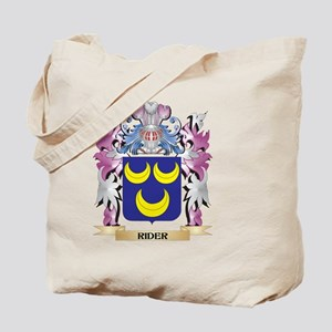 Rider Coat of Arms - Family Crest Tote Bag