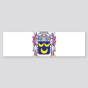 Rider Coat of Arms - Family Crest Bumper Sticker