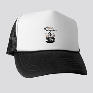 Instant Photographer Just Add Coffee Trucker Hat