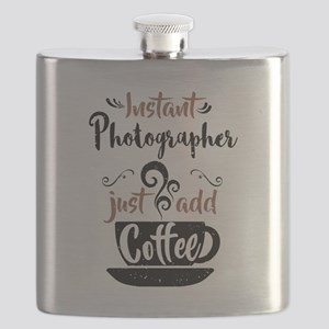 Instant Photographer Just Add Coffee Flask