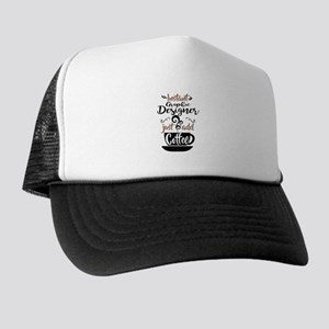 Instant Graphic Designer Just Add Coffee Trucker H