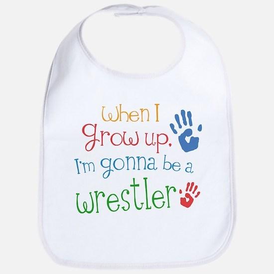 wrestler_future Baby Bib