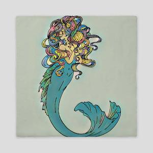 Colorful Mermaid Queen Duvet