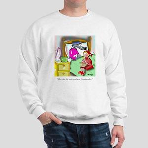Denture Cartoon 9394 Sweatshirt
