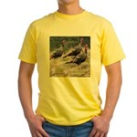Three Tom Turkey Gobblers Yellow T-Shirt