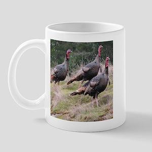 Three Tom Turkey Gobblers Mug