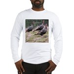 Three Tom Turkey Gobblers Long Sleeve T-Shirt