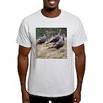 Three Tom Turkey Gobblers Light T-Shirt