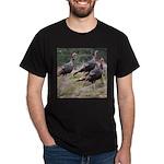 Three Tom Turkey Gobblers Dark T-Shirt