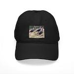 Three Tom Turkey Gobblers Black Cap