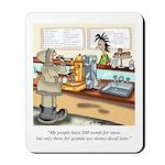 Coffee Cartoon 9391 Mousepad