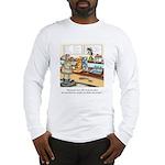Coffee Cartoon 9391 Long Sleeve T-Shirt