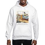 Coffee Cartoon 9391 Hooded Sweatshirt