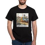 Coffee Cartoon 9391 Dark T-Shirt