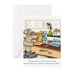 Coffee Cartoon 9391 Greeting Cards (Pk of 10)
