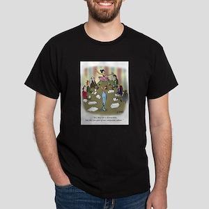 Dancing Cartoon 9386 Dark T-Shirt