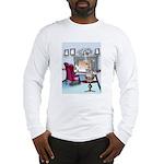 Navy Cartoon 9384 Long Sleeve T-Shirt