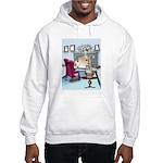 Navy Cartoon 9384 Hooded Sweatshirt