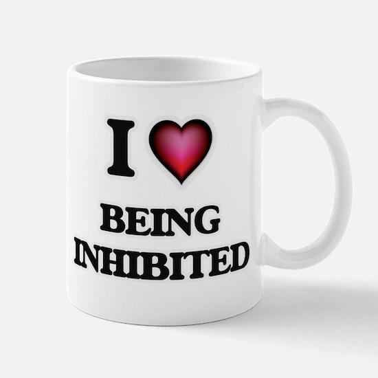 I Love Being Inhibited Mugs