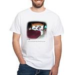 Dog Cartoon 9390 White T-Shirt