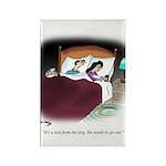 Dog Cartoon 9390 Rectangle Magnet (10 pack)