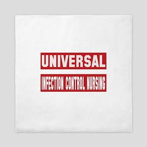 Universal Infection control nursing Queen Duvet
