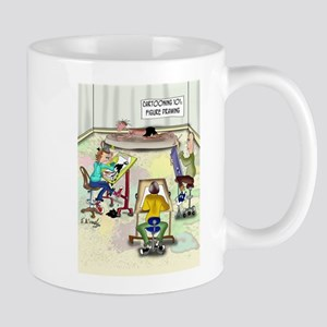 Artist Cartoon 9393 Mug