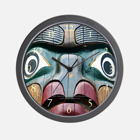 Sacred Hoop Wall Clock