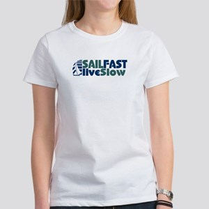 Sailors sailing Sail Fast Women's Classic T-Shirt