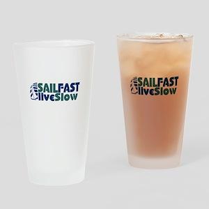 Sailors sailing Sail Fast Drinking Glass