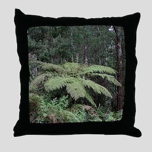 Dandenong Ranges Rainforest 2 Throw Pillow