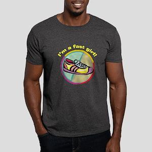 Fast Girl Running Dark T-Shirt