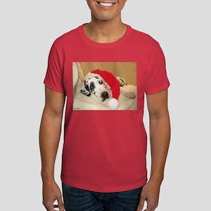 NH Santa's Hat2 Dark T-Shirt